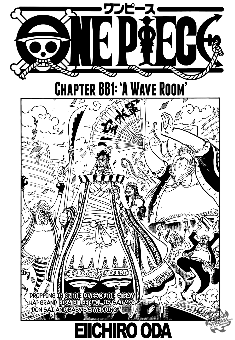 One Piece Chapter 881 Review: Room of Waves