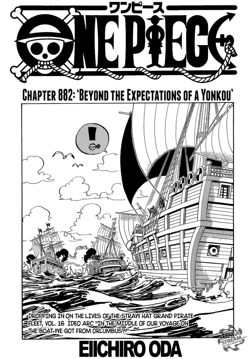 One Piece Chapter 882 Review: Outside of a Yonko's Expectations